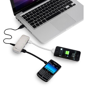 Powertraveller Spidermonkey Charger Silver